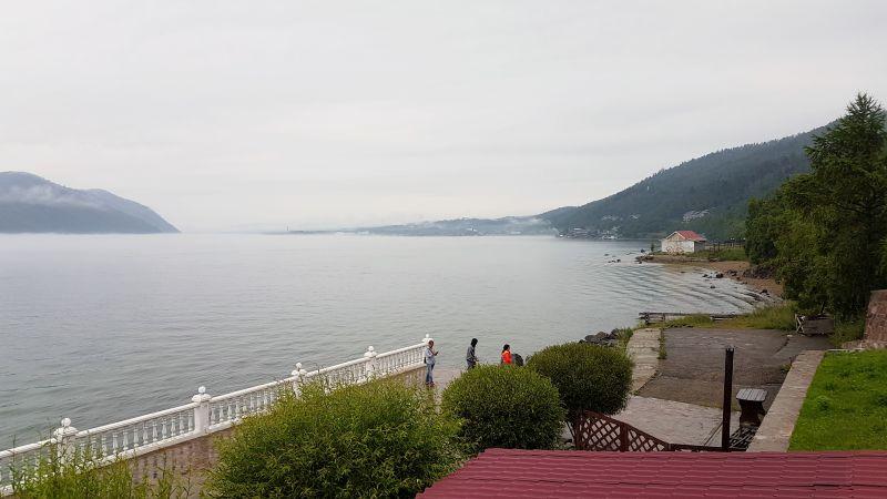 Visão da chegada ao Baikal