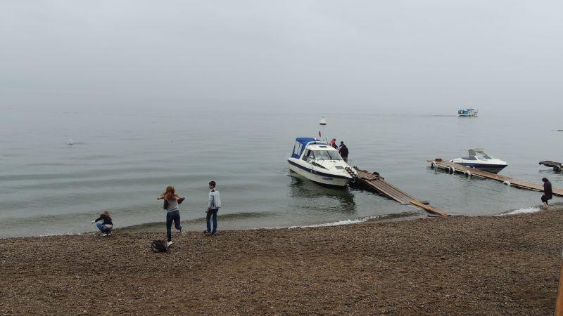 Listvyanka, às margens do Baikal